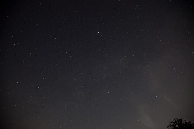 3) Starry night skies as far as the eye can see.