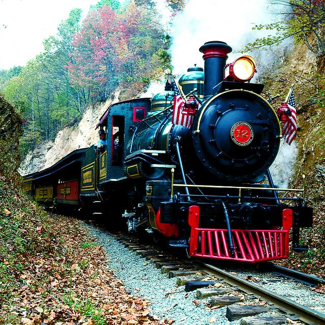 7. Take the kids to tweetsie railroad.