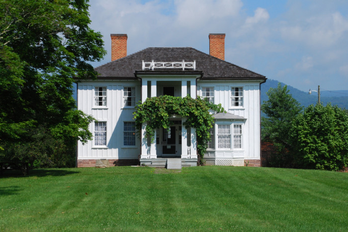 8) The birth place of Pearl S. Buck is a historic house located near Hillsboro, WV.