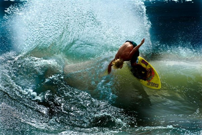14. Try surfing.
