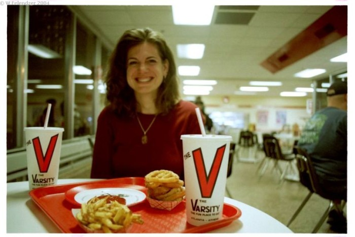 10. The Varsity is the best greasy food in town.