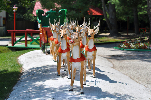 5. Speaking of Christmas...there's also Santa's Land Family Theme Park and Zoo in Cherokee.