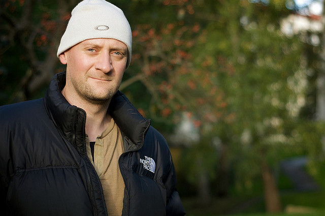 4) People pulling out their North Face jackets and beanies when it's any colder than really, really hot outside.