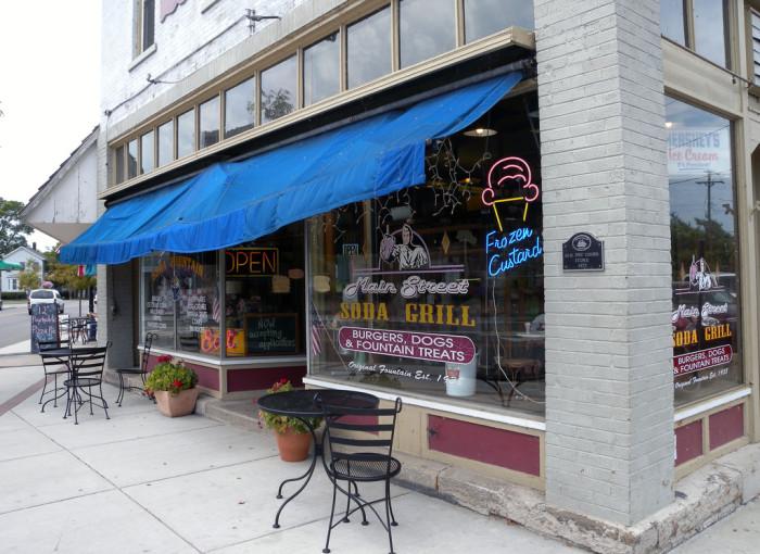 10) Big Ed's Main Street Soda Grill