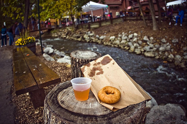 Apple Cider and Donuts are a Winning Combination.
