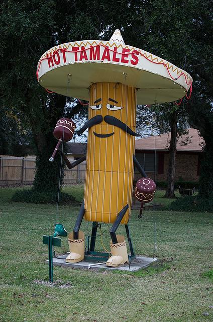 2) Big Tamale Statue