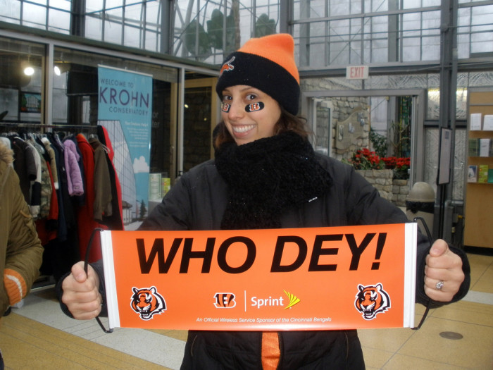 """8) """"Who Dey"""" is simply how Bengals fans cheer."""