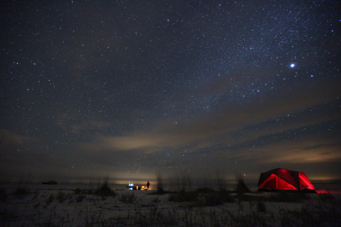 8. Maybe spend the night under the stars.