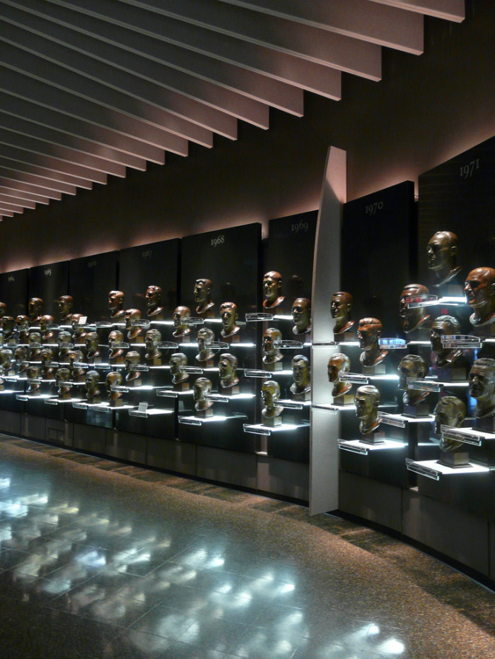 2)...And the same goes for sports enthusiasts and the Pro Football Hall of Fame in Canton.