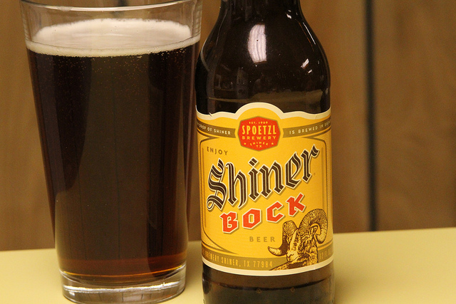 10) Shiner Bock Beer