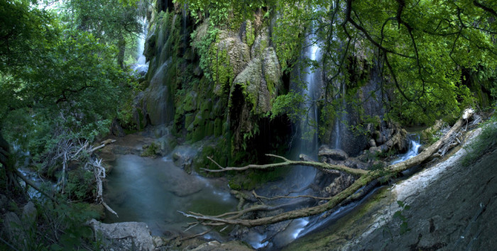 Gorman Falls Is One Of The Most Famous Waterfalls In Texas It Located Colorado Bend State Park This Waterfall Cascades 65 Feet Over Moss Covered