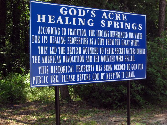8. Healing Springs