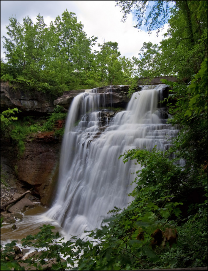1) Brandywine Falls (Cuyahoga Valley National Park) because what's more romantic than a breathtaking waterfall?