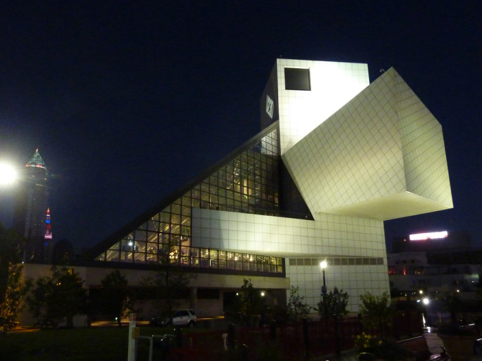 7) When the Rock and Roll Hall of Fame opened up in Cleveland and the world finally had somewhere to preserve an awesome, musical piece of history.