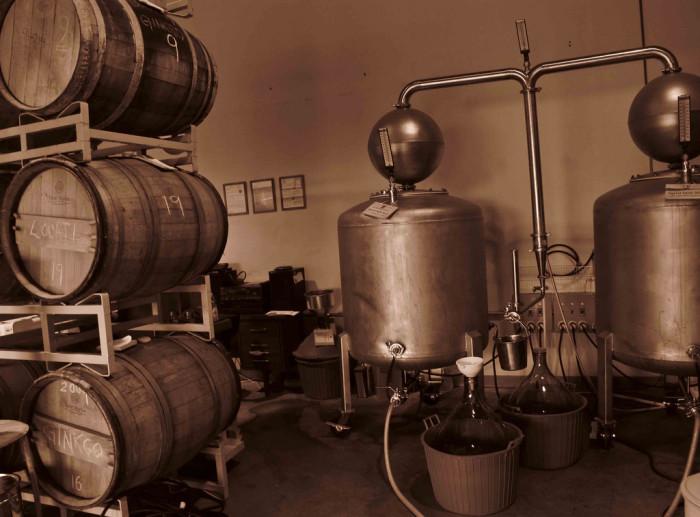 9. Palmetto Moonshine Distillery
