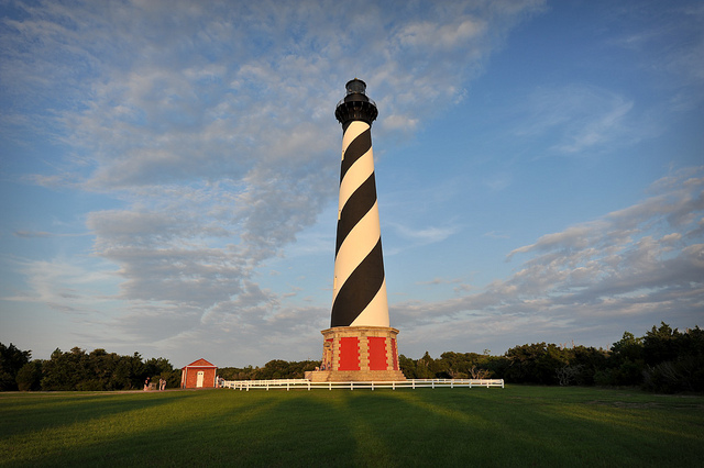 5. It's not a real trip to the Outer Banks unless you visit the tallest lighthouse in America, Cape Hatteras