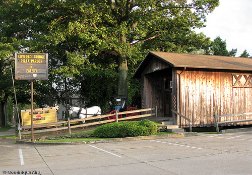 3) Covered Bridge Pizza Parlor and Eatery