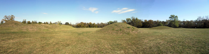 3) Hopewell Culture National Historic Park (Chillicothe) where you'll find the world's largest collection of Indian burial mounds.