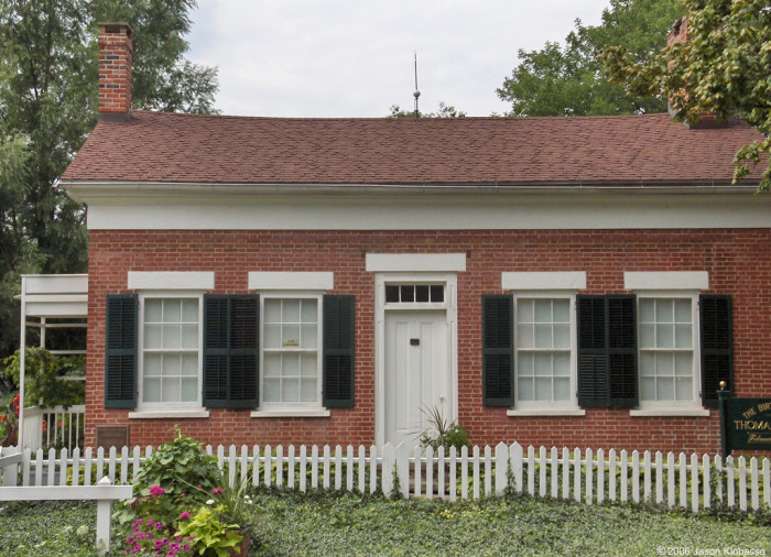 2) Birthplace of Thomas A. Edison