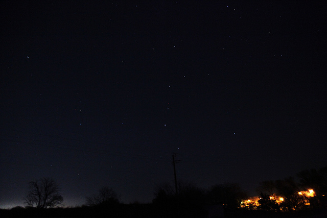 10) Where else but Texas can you see the Big Dipper as clearly as this?