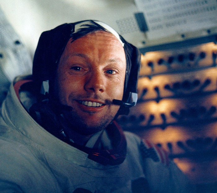 11) Neil Armstrong: Who wasn't afraid to take that giant leap for mankind.