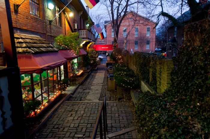 7) German Village (Columbus) because you won't find this much charm anywhere else.