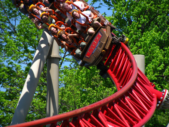 4) Only take your friends/family on the roller coasters that you know without a doubt they can handle. (Unless the actual goal is to terrify them. Then, by all means, take your pick of them here.)