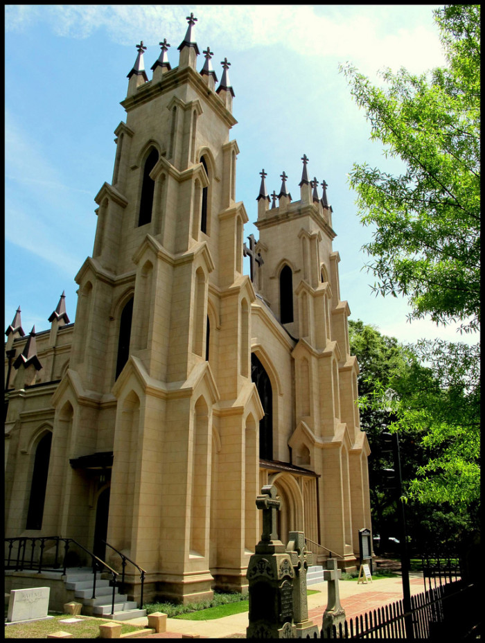 3. Trinity Episcopal Cathedral, Columbia, SC