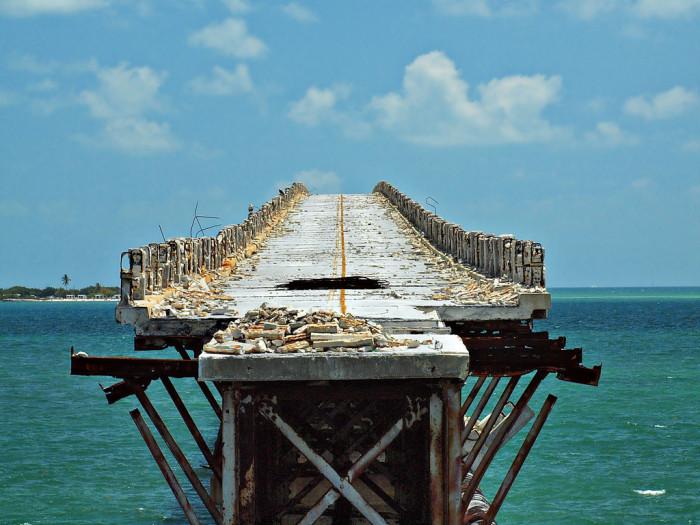 Abandoned Flagler Railroad Bridge, West Summerland Key, FL