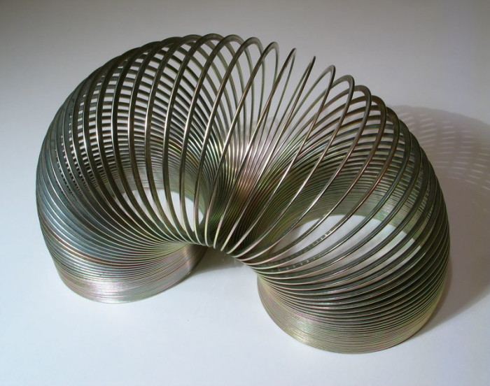 5. The Slinky was invented by an engineer in 1943 and was first sold as a toy in Philadelphia in 1945.