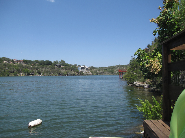5) Lake Marble Falls, a peaceful reservoir on the Colorado River near Marble Falls.