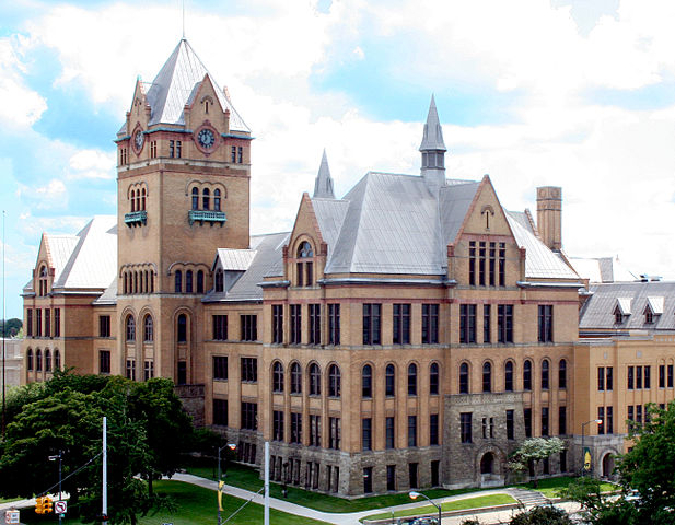 11) Old Main, Wayne State University, Detroit