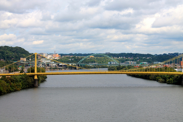 6. The Monongahela River, located in Western PA, is unique in that it flows north.