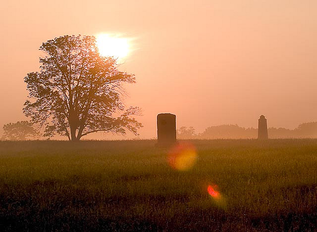 6. The sun greets Lancaster with a new day.