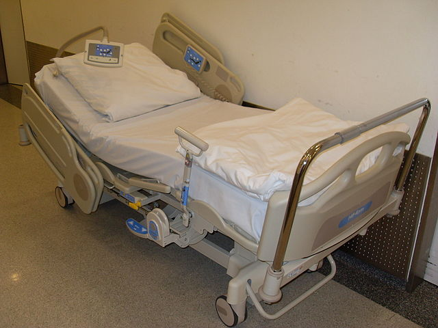 11) Hospital bed