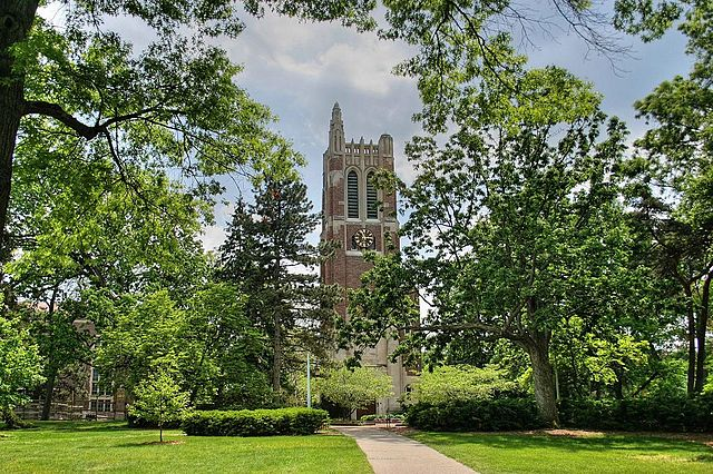 9) Beaumont Tower, Michigan State University, East Lansing