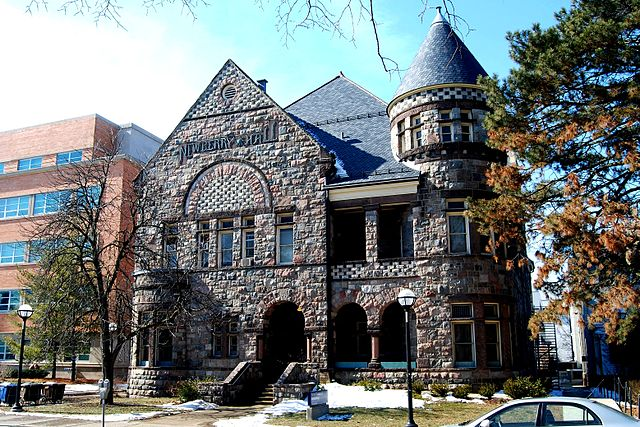 5) Newberry Hall, University of Michigan, Ann Arbor