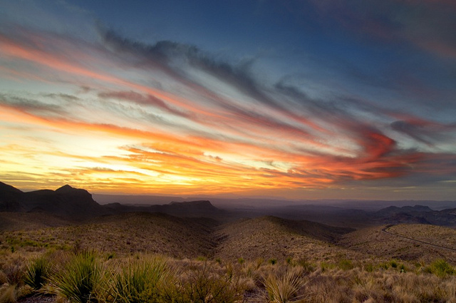 4) Big Bend National Park never fails to impress us with its majestic rugged beauty. And at sunset, it's even more breathtaking.
