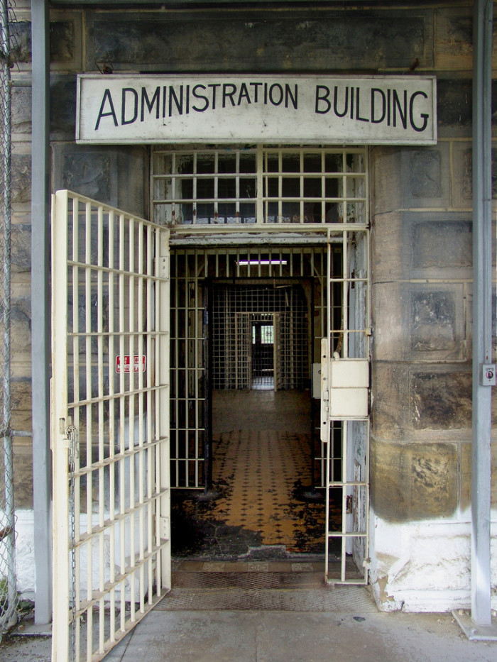 7) Not only did some of the prisoners help build the prison, they also had many jobs there that made the prison almost self-sufficient.
