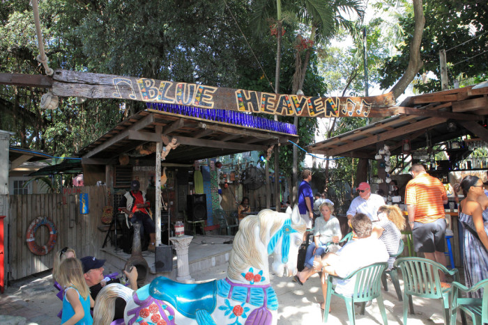 8. Blue Heaven (Key West, FL)