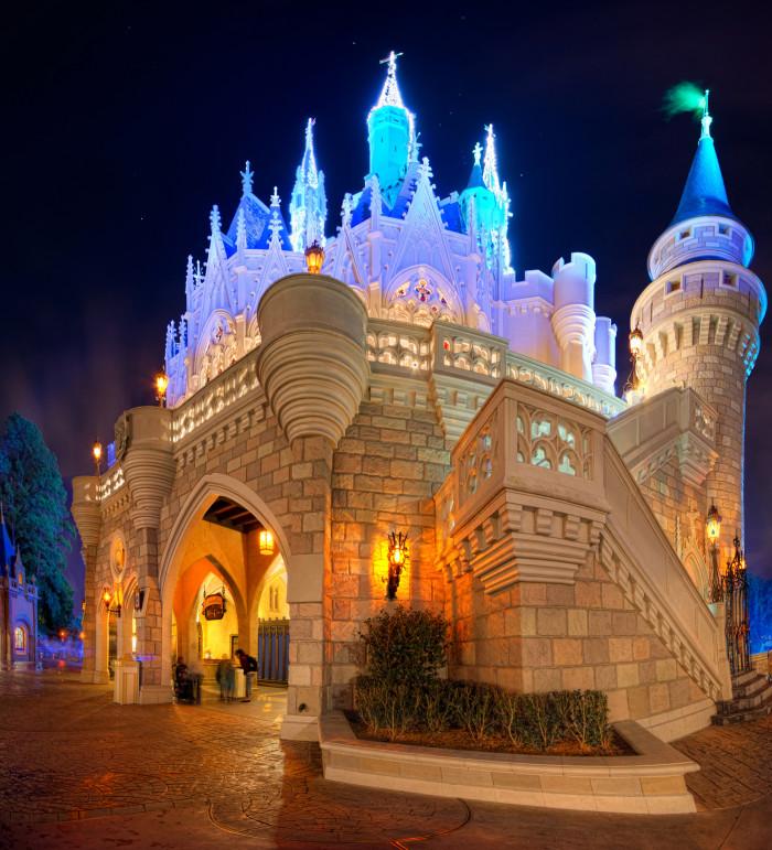 7. Cinderella Castle (Orlando, FL)