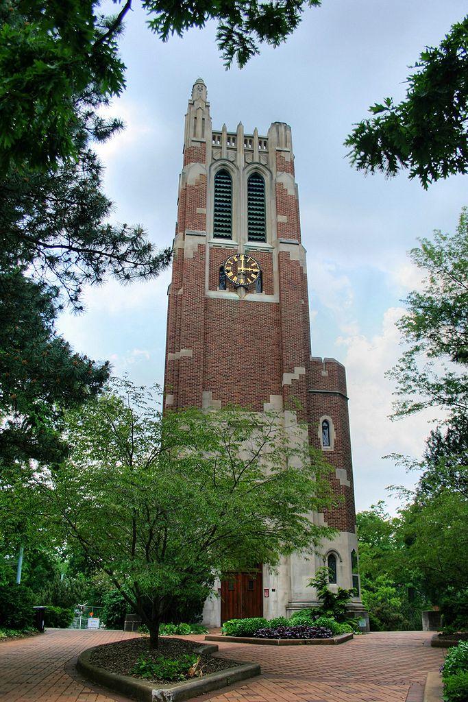 11) Beaumont Tower, Michigan State University