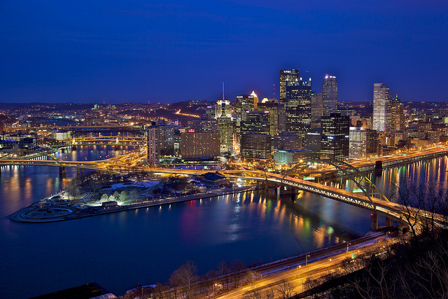 12. Downtown Pittsburgh Viewed From The Duquesne Incline