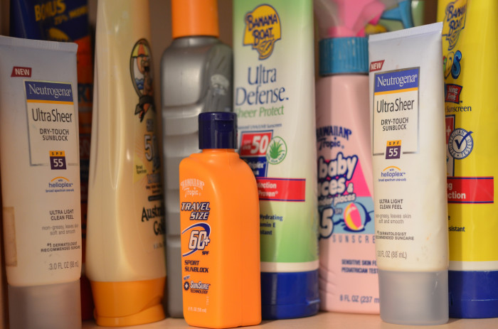 3. They religiously use sunscreen and have a lifelong hunt for the perfect one.