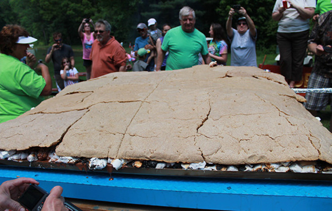 7. Largest s'more
