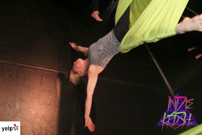 5. Aerial Yoga
