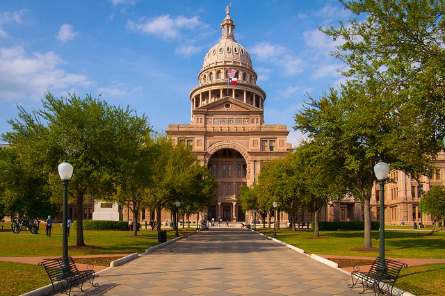 9) The Texas State Capitol is the largest in the nation in terms of gross square footage.