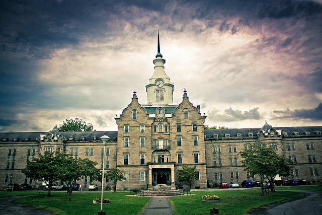 6) The Trans-Allegheny Lunatic Asylum, also known as Weston State Hospital, is located in Weston, WV.