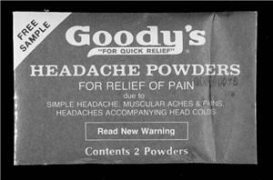 11. Headache Powder
