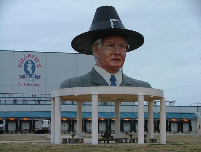6) Giant Bo Pilgrim Head
